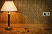 Lamp near Wall — Stock Photo