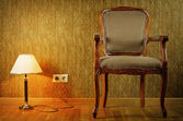 Lamp And Armchair — Stock Photo