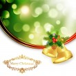 Christmas Bells — Vector de stock #14915755