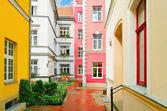 Narrow Riga Street — Stock Photo