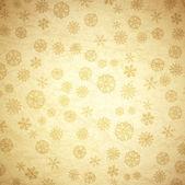 Snowflake Vintage Background — Stock Vector
