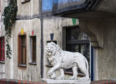 Sculpture Of Lion — Stock Photo