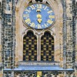 St. Vitus Cathedral Clock — Stock Photo