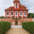 Stock Photo: Troja Palace