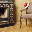 Santa's Armchair - Stock Photo