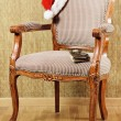 Royalty-Free Stock Photo: Santa\'s Armchair