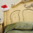 Stock Photo: Santa's Bedroom