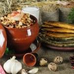 Latvian Food — Stock Photo