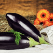Aubergines - Stock Photo