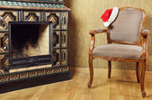 Santa's Armchair — Stock Photo