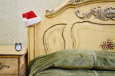 Santa's Bedroom — Stock Photo