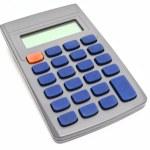 Empty calculator — Stock Photo #2289214