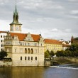Prague's Ancient Architecture — 图库照片