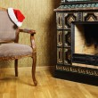 Stock Photo: Santa's Armchair