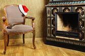 Santa's Armchair — Stock Photo