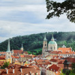 рanoramic view of prague — Stock Photo