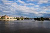 Vltava River — Stock Photo