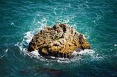 Rock In The Sea — Stock Photo