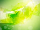 Abstrakt bakgrund i grön — Stockvektor