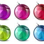 Christmas Ball Set — Stock Vector #31122139