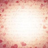 Heart Grunge Background — Stock Vector