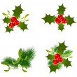 Stock Vector: Christmas Decoration Elements
