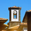 Stock Photo: clock tower&quot