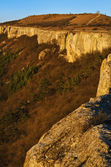 Ovech Fortress In The Light Of Setting Sun. Provadia, Bulgaria — Stock Photo