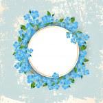 Vintage Floral Frame — Stock Vector #43627871