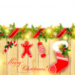 Christmas frame — Stock Vector #7958921