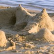 Photograph of a sandcastle — Stock Photo