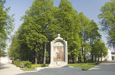 Monument to oath of D. Pozharsky — Stock Photo