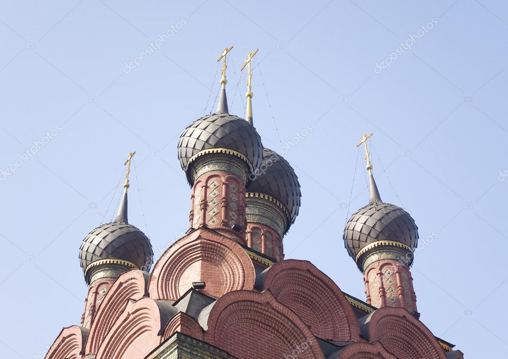 Russia, Yaroslavl. Church of the Epiphany. Religion concept — Stock Photo #12609614