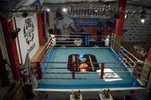 Thai boxing fight club Osminog — Stock Photo