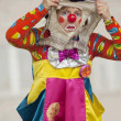 Stock Photo: Clown Bantik, A.Epatova