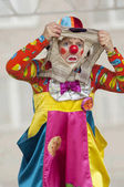 Clown Bantik, A.Epatova — Stock Photo