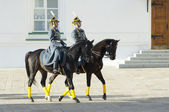 Presidential guards on a horses — Stock Photo