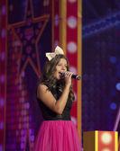 Loya sing in bigest Moll in Europe VEGAS — Stock Photo