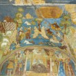 Interior paintings of Church the Ilya the Prophet - Stock Photo