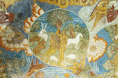Interior paintings of Church the Ilya the Prophet — Stock Photo
