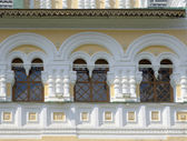 Fenêtres de l'ancienne église — Photo