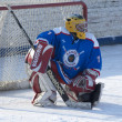 Stock Photo: Goaltender of Desna-2 team I.Sumskoy