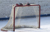 Hockey gate — Stockfoto