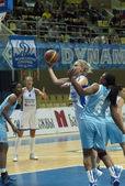 Basketball womens cup — Stock Photo