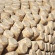 Wine bottles corks round — Stock Photo