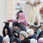 Maslenitsa - family holiday — Stock Photo #22923162