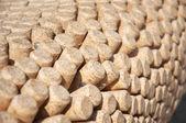 Wine bottles corks round — Stock Photo