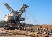 Mine machine — Stock Photo