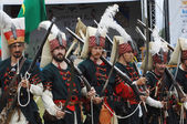 Turkish soldiers 1572 — Stock Photo
