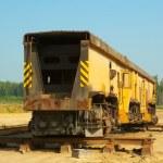 Train on mining career — Stock Photo #34249439